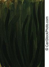 dark green watercolor background