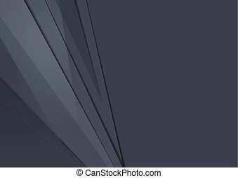 Dark grey abstract tech material minimal background