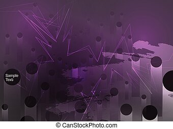 Dark Grunge Abstract Background