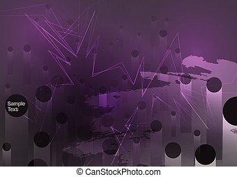 Dark Grunge Abstract Background