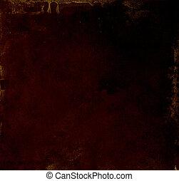 Dark grunge background.