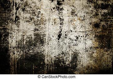Dark grunge background - Detail of a dark textured grunge...