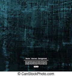 Dark grunge background. Vector abst