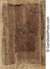 dark grunge sheet - dark faded sheet with spots, marks and...