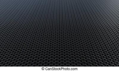 Dark metallic chain armor pattern background loop - Dark...