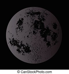Dark Moon Background