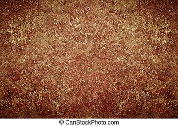 Dark old vintage brown chapped wall