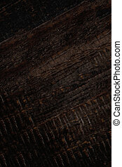 Dark old wood texture background surface with natural pattern and stripes.
