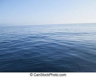 Dark open water
