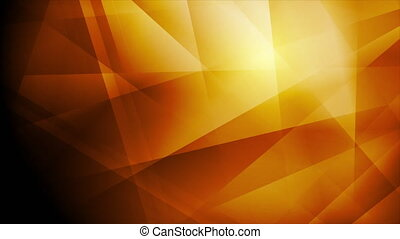 Dark orange glossy tech low poly abstract motion background. Seamless looping. Video animation Ultra HD 4K 3840x2160