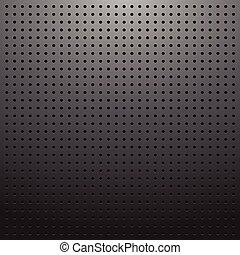 Dark pegboard background - Blank dark pegboard background