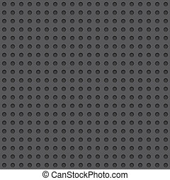 Dark Perforated Board Seamless Background Tile