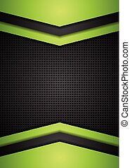 Dark perforated tech corporate background