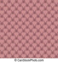 Dark pink seamless pattern.