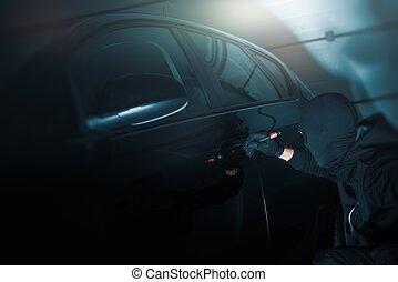 Dark Place Car Robbery