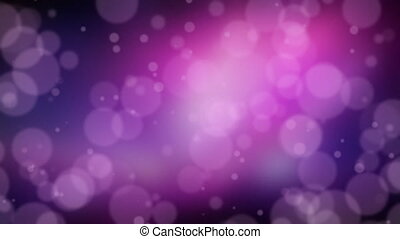 Dark Purple Bokeh Dot Background