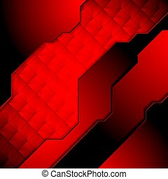 Dark red abstract technology background