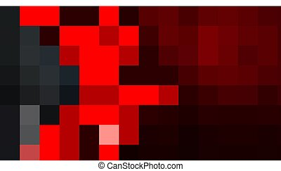Dark red abstract textural design with a shiny metallic arrow