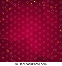 Dark Red Background With Stars