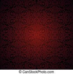 Dark red brown wallpaper vector background