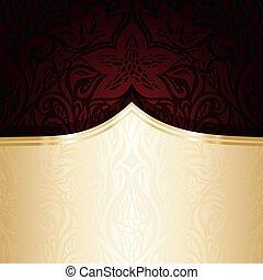 Dark red brown wallpaper vector design background