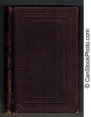 dark red cloth book binding background
