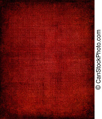 Dark Red Cloth - Old vintage red cloth with a screen pattern...