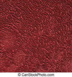 Dark red color towel cloth