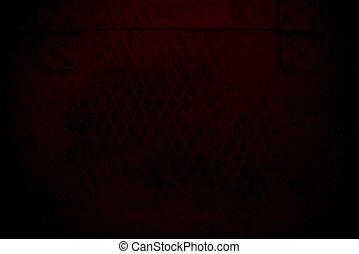 dark red Steel mesh screen background and texture