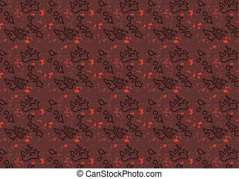 Dark Red Structured Texture
