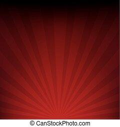Dark Red Sunburst Paper