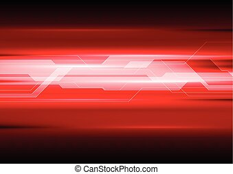 Dark red technical abstract background