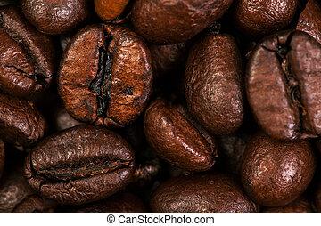 Dark Roasted Coffee Beans Caffeine Brown Espresso wallpaper ...