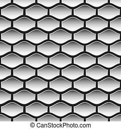 Dark seamless pattern vector
