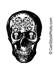 dark skull line thai