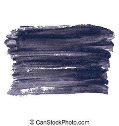 Dark Smears Varnish Abstract Background