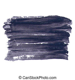 Dark Smears Varnish Abstract Background