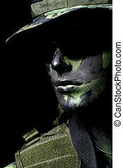 Dark soldier portraitnDar