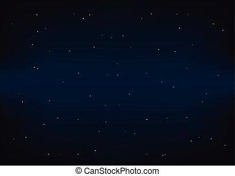 Dark Space Deep Blue Navy Background Vector Illustration