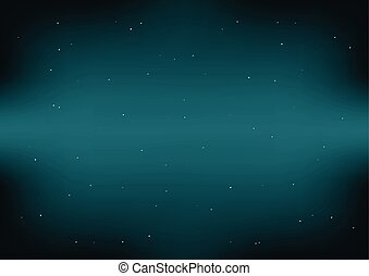 Dark Space Green Blue Background