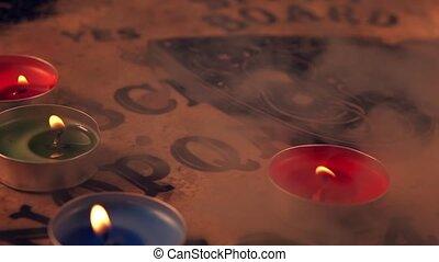 Dark Spiritual Game Ouija Board