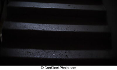 Dark Stairs In The Building