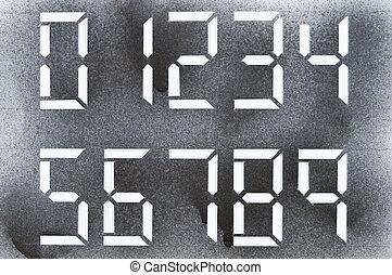 dark stencil numbers