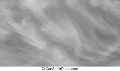 Dark Swirling Smoky Clouds Looping Animation