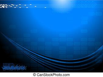 Dark technical background