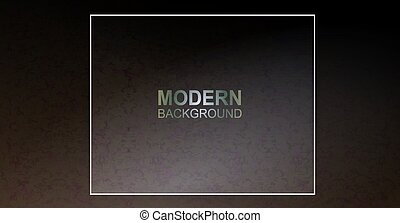 Dark textured brown camouflage design with a square frame