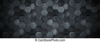 Dark Tiled Background with Spotlight (Website Head) - A dark...