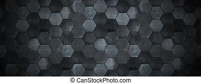 Dark Tiled Background with Spotlight (Website Head) - A dark...