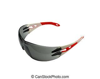 Dark toned protective glasses - Fashionable dark toned...
