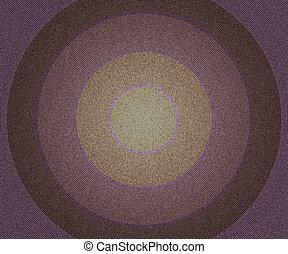 Dark Vintage Circles Background